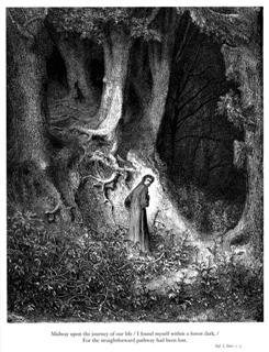 Beeld: Dante's Goddelijke Komedie