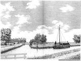 Pentekening Jacob Drent: Rollepaal, Dedemsvaart, ca. 1890