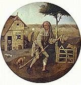 Jeroen Bosch: De Marskramer, 1490-1505, olieverf op paneel, Museum Boijmans, Rotterdam